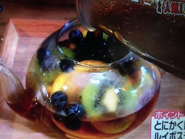 フルーツ・ジンジャー・焼酎 ルイボスティー レシピ【あさイチ】