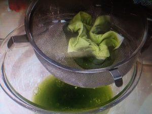 緑茶のさっぱり冷麺