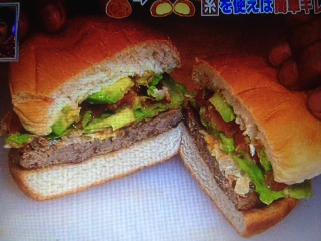 糸でハンバーガーを半分にする方法&粒取り名人【得する人損する人】