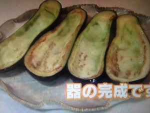 北斗晶 秋茄子の味噌マヨ炒め