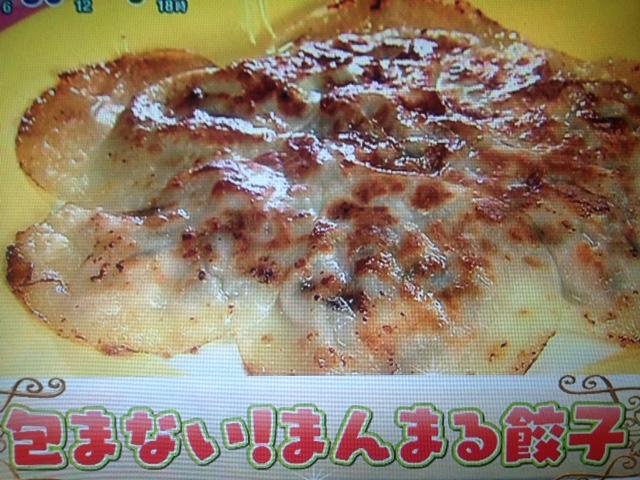 【あさチャン】北斗晶の包まない!中華ダシ入りまんまる餃子 レシピ