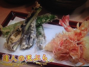 あさイチ 天ぷら