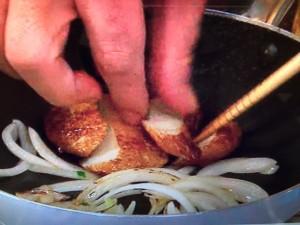 バイキング レシピ さつま揚げの玉子とじ丼