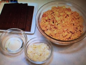 みきママ レシピ チョコクランチ