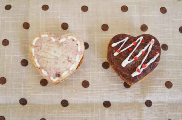 バレンタイン 手作り おしゃれ クッキー 画像