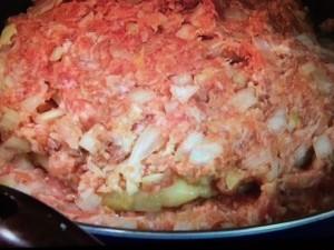 みきママレシピ チーズインハンバーグ
