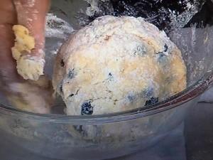 きょうの料理 ブルーベリースコーン