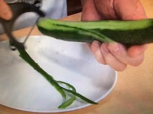 キューピー3分クッキング えびときゅうりの翡翠炒め