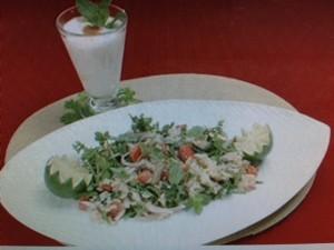 グッチ裕三 レシピ ドライグリーンカレーのライスサラダ