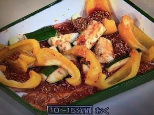 きょうの料理 夏野菜と豚の焼きカルビ風