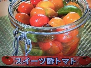 あさチャン 酢トマト