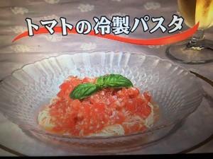 3分クッキング レシピ トマトの冷製パスタ