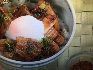 上沼恵美子のおしゃべりクッキング 豚のみそ煮丼