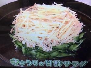 きょうの料理 きゅうりの甘酢サラダ