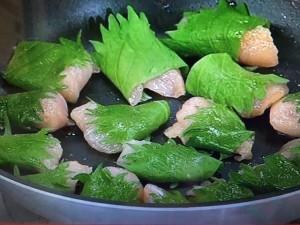 あさイチ レシピ 鶏ささ身の青じそ焼き