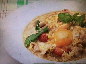 雨上がり食楽部 イタリアン親子丼