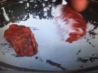雨上がり食楽部 肉巻きかぼちゃあんかけ