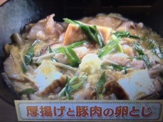 上沼恵美子のおしゃべりクッキング 厚揚げと豚肉の辛み炒め