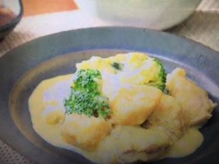 めざましテレビ チキンとカボチャのクリーム煮込み