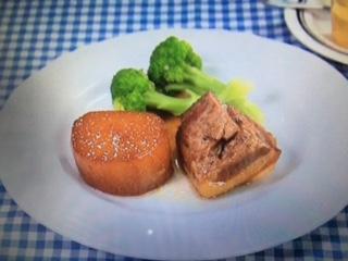 きょうの料理 大根と豚肉のべっこう煮