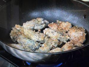 きょうの料理 かきと牛肉の炒め物