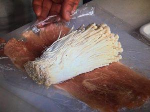 きょうの料理 えのきの切り株ステーキ