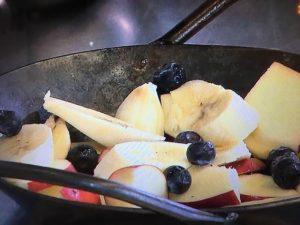 きょうの料理 グリルで焼きフルーツ