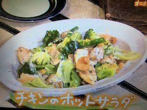 きょうの料理 チキンのホットサラダ