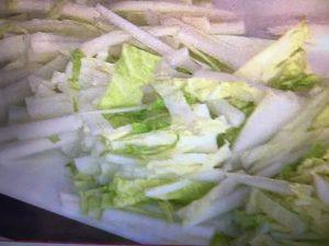 男子ごはん ハムと白菜の焼きチーズパスタ