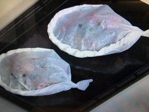 きょうの料理 鶏肉香味マリネの包み焼き