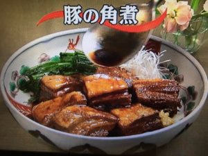 【キューピー3分クッキング】豚の角煮 レシピ