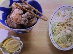 【NHKきょうの料理】栗原 はるみレシピ!スパイシーフライドチキン&キャベツのパスタ・バーニャカウダソース