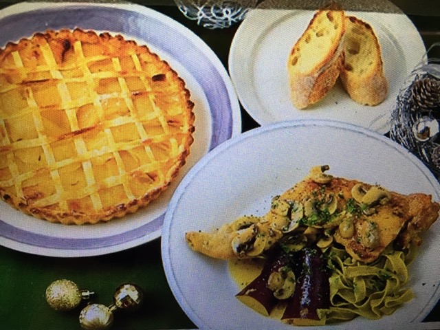 男子ごはんレシピ!骨付き鶏もも肉の白ワインハーブ煮&アップルパイ