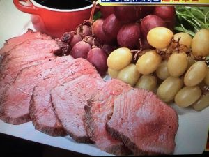 【サタデープラス】水島弘史流!肉じゃが&ローストビーフ レシピ