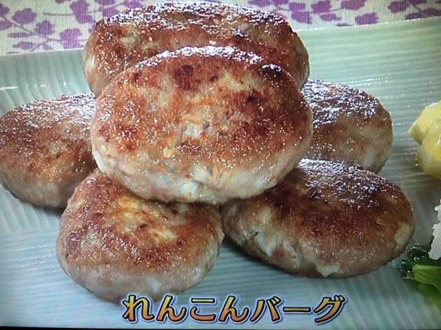 【きょうの料理ビギナーズ】れんこんバーグ&れんこんと鶏肉のいり煮 レシピ