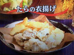 【キューピー3分クッキング】たらの衣揚げ&ゆで白菜の温サラダ レシピ