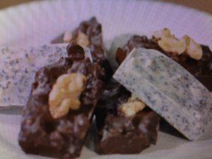【めざましテレビ】ローラ レシピ~アールグレイのごろごろチョコ