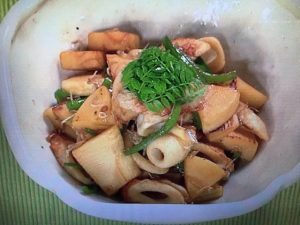 【上沼恵美子のおしゃべりクッキング】筍とじゃこの炒め煮 レシピ