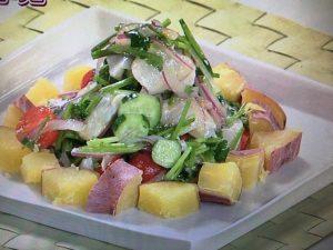 【上沼恵美子のおしゃべりクッキング】鯛とさつま芋のセビーチェ レシピ