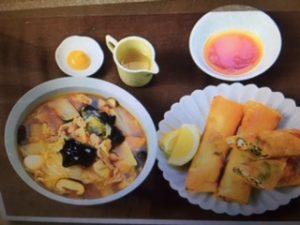 男子ごはんレシピ!五目うま煮麺&メカジキと豆苗の春巻き