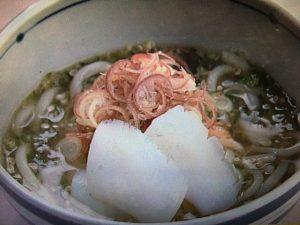 【上沼恵美子のおしゃべりクッキング】梅とろろうどん レシピ