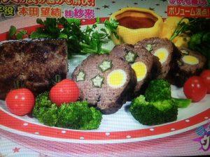 【ウワサの食卓】平野レミレシピ~豆腐&チョコムース・食べればナゲット・お肉の星空ケーキ