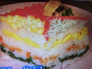 【バイキング】ひな祭りレシピ~ひし餅型ちらし寿司・ジャガイモモンブランなど