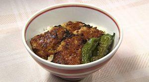 北斗晶の木綿豆腐で作るなんちゃって蒲焼き丼 レシピ【あさチャン】