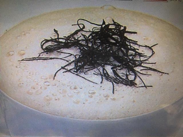 【得する人損する人】サイゲン大介レシピ~きのこのスープ カプチーノ仕立て