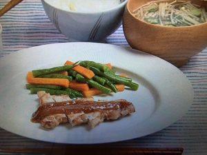 【キューピー3分クッキング】豚肉のソテー にんにくみそ レシピ
