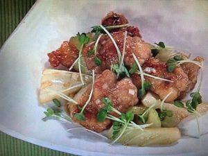 【上沼恵美子のおしゃべりクッキング】鶏とセロリのピリ辛 レシピ