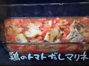 【NHKきょうの料理】ゴーヤーと豚バラの梅煮・鶏のトマトだしマリネなど