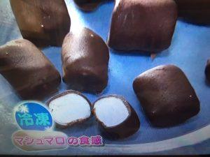【あさイチ】マシュマロのアレンジレシピ。ゼリー・ムース・焼き・冷凍など
