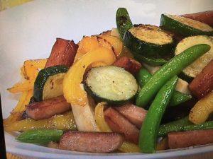 【キューピー3分クッキング】ランチョンミートと野菜の蒸し炒め